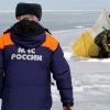 В Енисейском районе спасли трех рыбаков с дрейфующей льдины