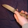 В Красноярске задержан разбойник с кухонным ножом