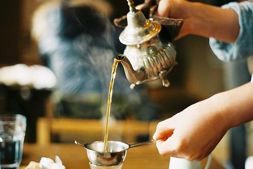 Чай снежная хризантема