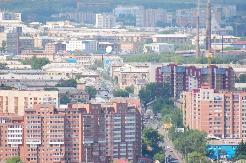Население Красноярска загод выросло на1,4%