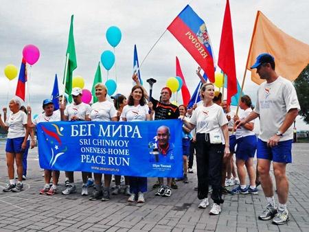 Красноярский край присоединился какции «Бег Мира»