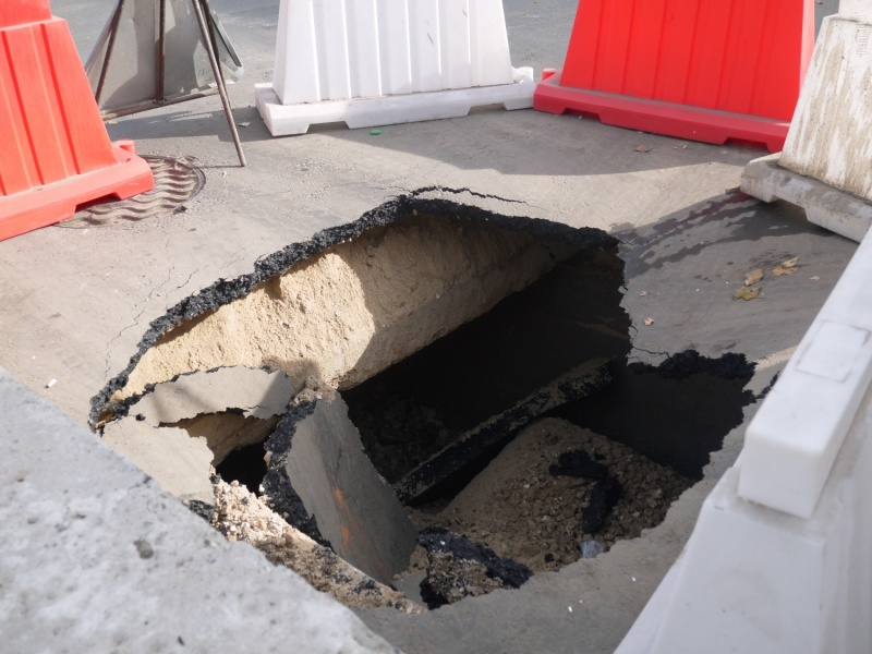 Красноярец провалился вглубокую яму наВзлетке: вытянули cотрудники экстренных служб
