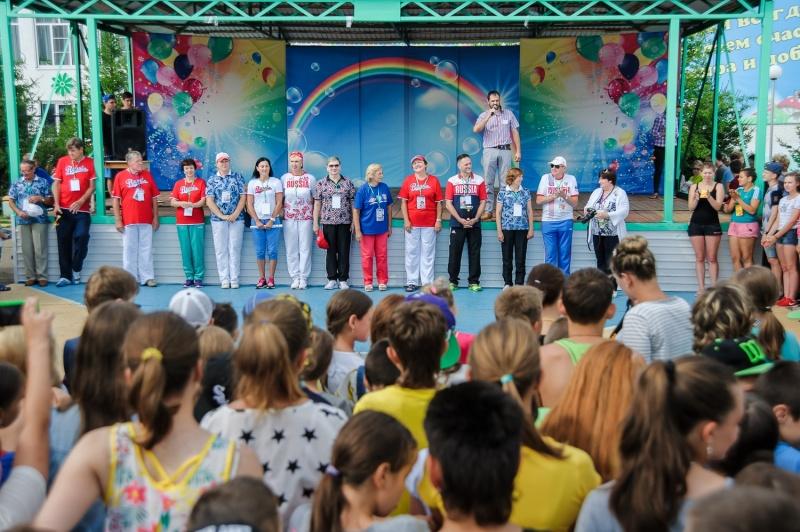 ВКрасноярск прибыли олимпийские чемпионы изРио