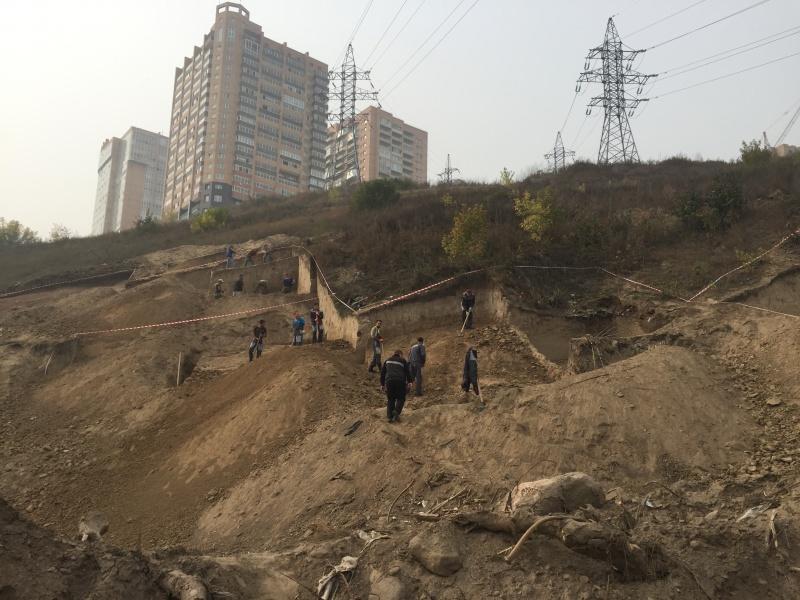 ВКрасноярске осенью наАфонтовой горе завершат раскопки