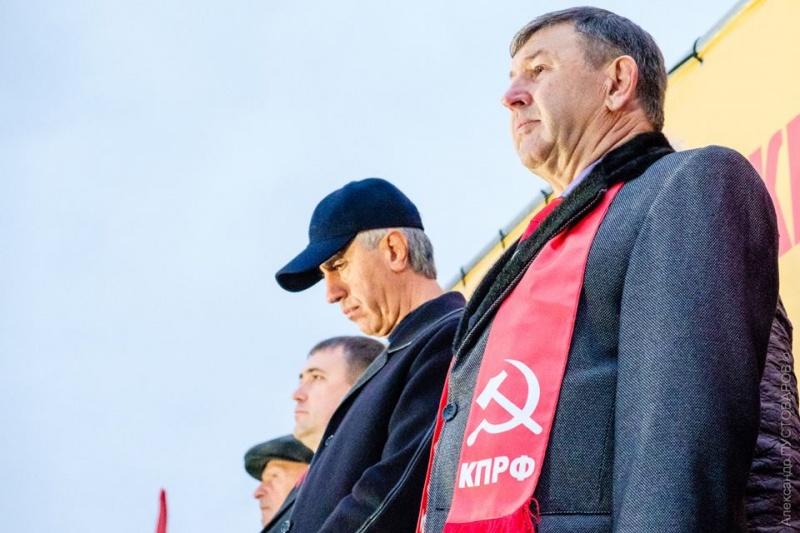 ВКрасноярске оппозиция провела митинг