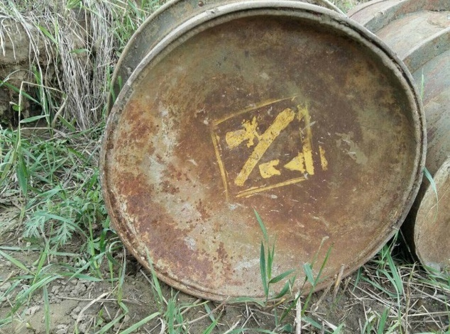 ВКрасноярском крае найдены токсичные бочки