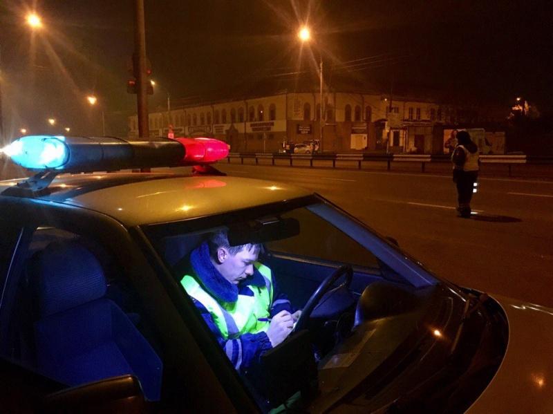 ВКрасноярске завыходные задержаны неменее 60 нетрезвых водителей