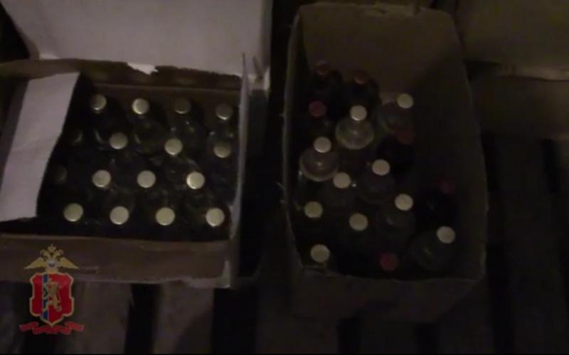 ВАчинске изъяли две тонны контрафактного лосьона