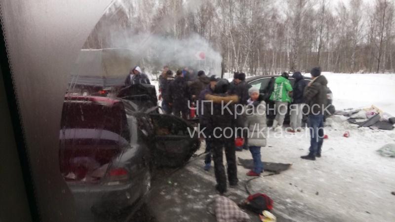 Кошмарная авария вКрасноярском крае: погибли родители и небольшой ребенок