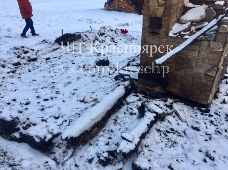 ВКрасноярском крае впроцессе пожара погибли три человека