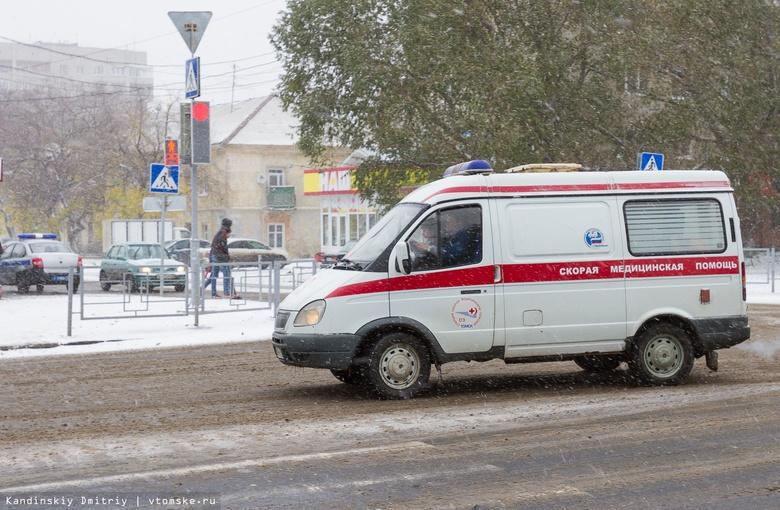 ВБерезовском районе мужчина угнал машину скорой помощи