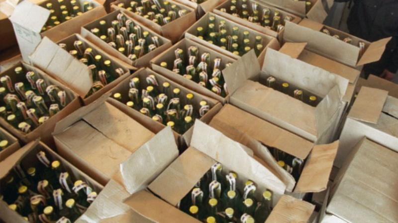 ВКрасноярском крае отыскали склад контрафактного алкоголя