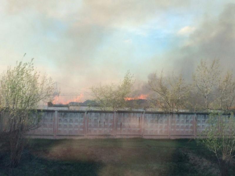 Сильный пожар на«китайской» пилораме вКанске