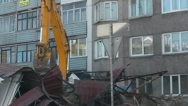 ВКрасноярске мэрия ликвидирует «алкогольные» торговые павильоны