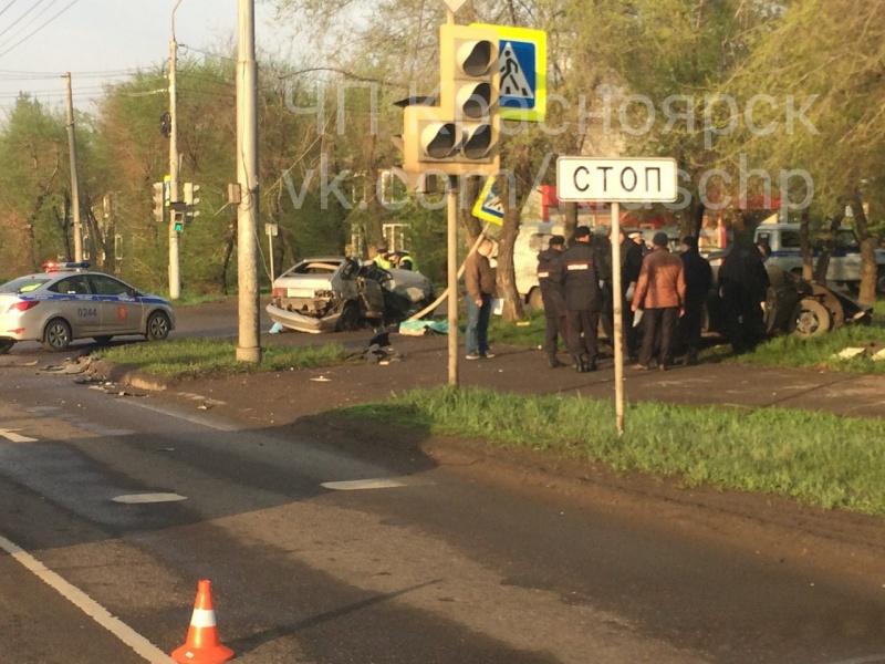 ВДТП наулице  Шахтеров погибли два человека