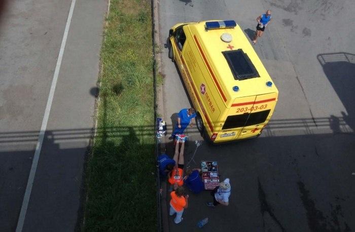 ВКрасноярске вовремя забега «Июльская жара» скончался спортсмен