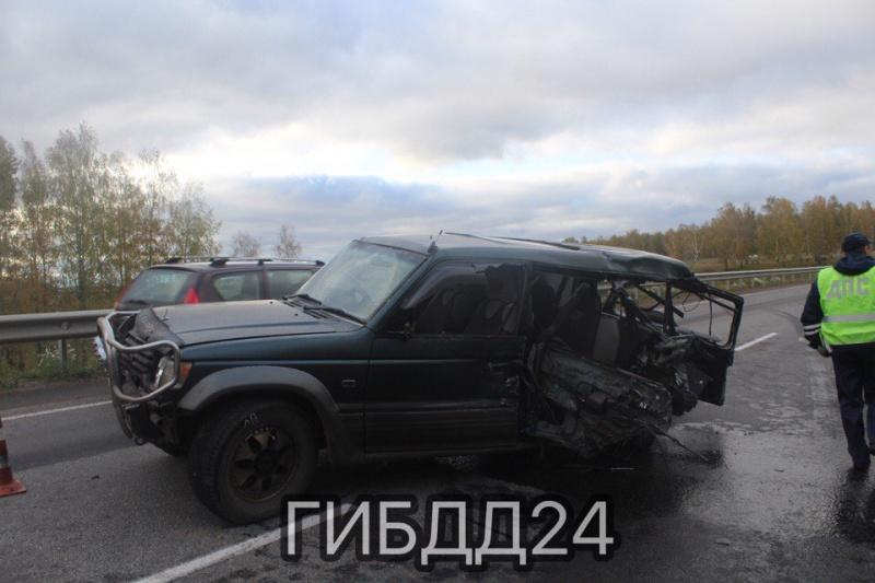 Шестнадцатилетний ребенок умер вДТП под Красноярском