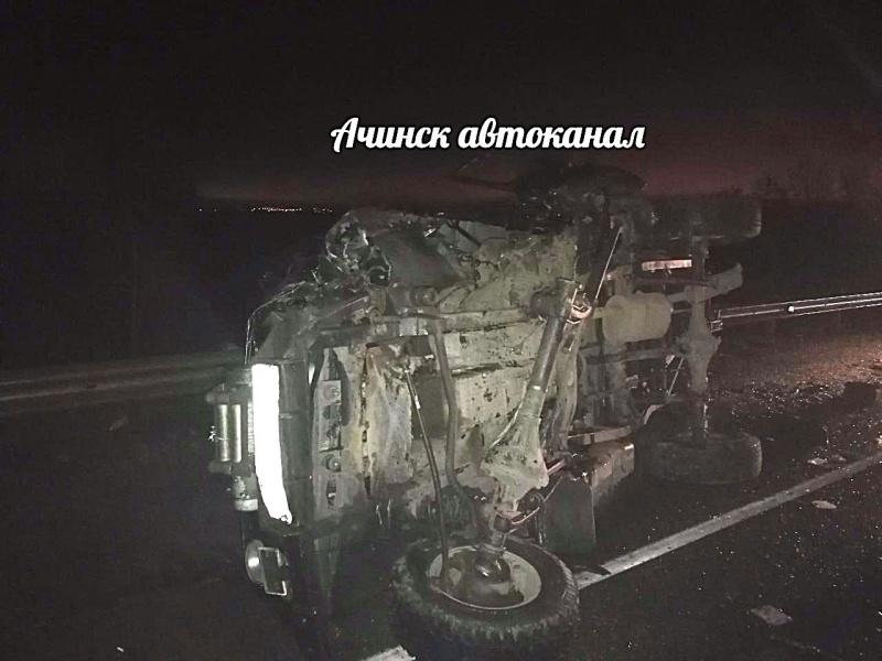 ВДТП под Ачинском пострадало 5 человек