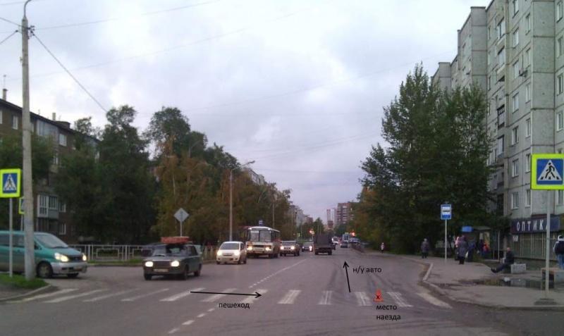 ВКрасноярске ищут водителя, который сбил школьницу иуехал