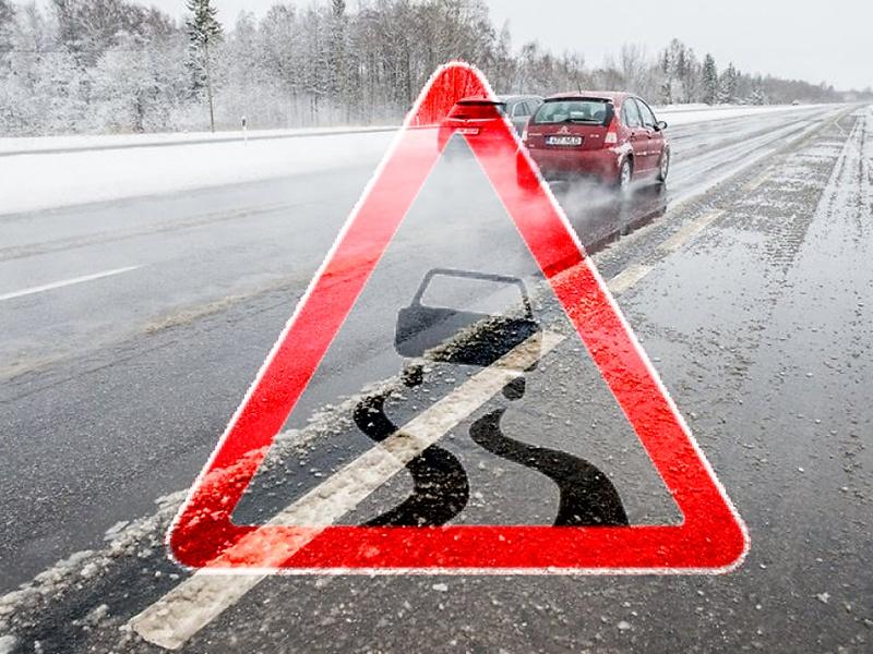 Мокрый снег осложнил перемещение поКрасноярску