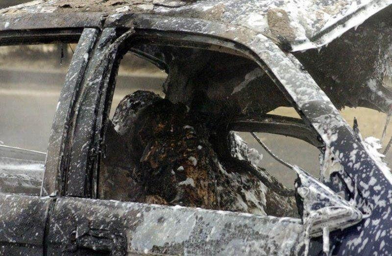 ВКрасноярске владельца строительного бизнеса похитили исожгли вмашине