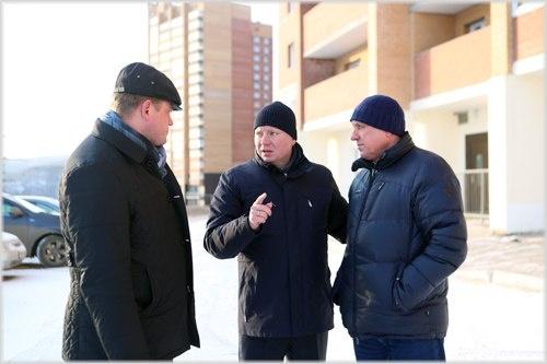 Руководитель Красноярска Сергей Еремин проинспектировал улицы города