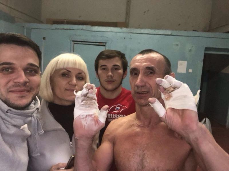 Красноярец побил мировой рекорд поподтягиванию
