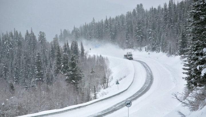 Две легковушки иавтобус столкнулись вКрасноярском крае