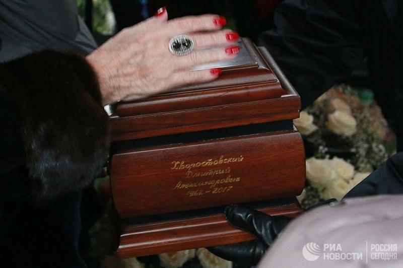 Место захоронения праха Хворостовского вКрасноярске определится 18января
