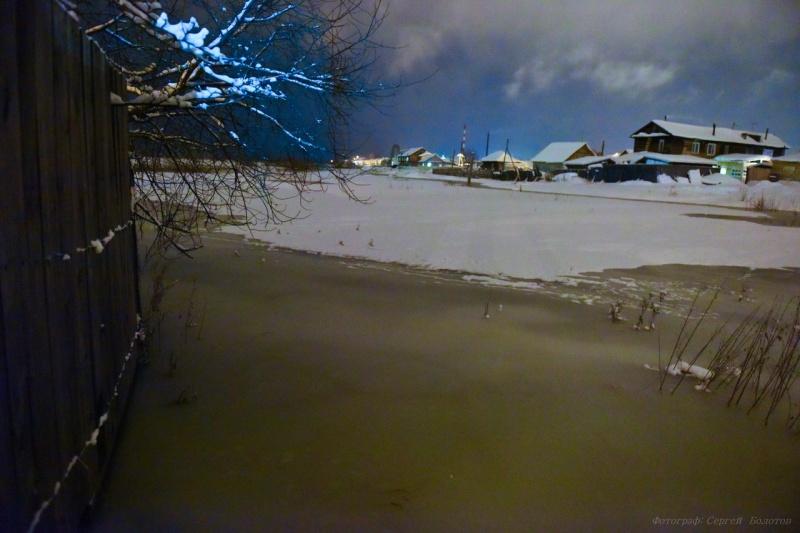 Енисейску угрожает подтопление из-за высокого уровня воды