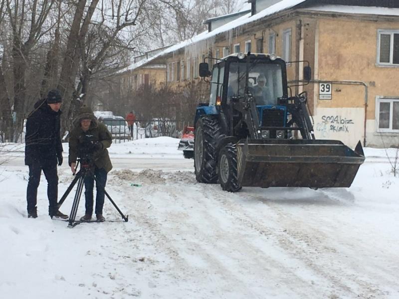 Виды Красноярска попали в отрывок  нового фильма «Ёлки»
