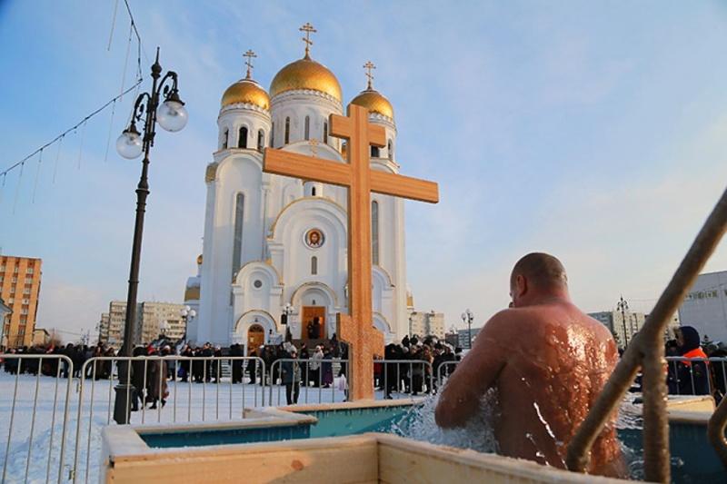 Для граждан Красноярска наКрещение обустроят три купели