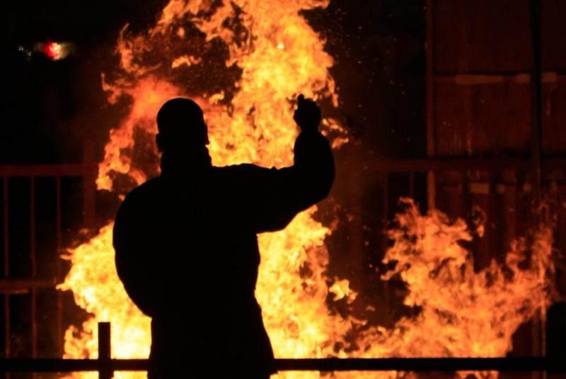 Гражданин Минусинска поджег дом родственников после ссоры