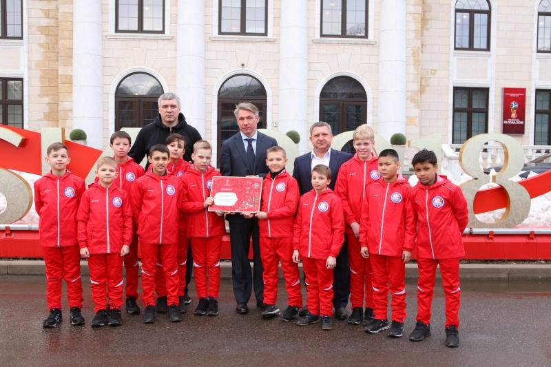 ВКраснодаре откроется кабинет повыдаче паспортов болельщиков Чемпионата мира пофутболу