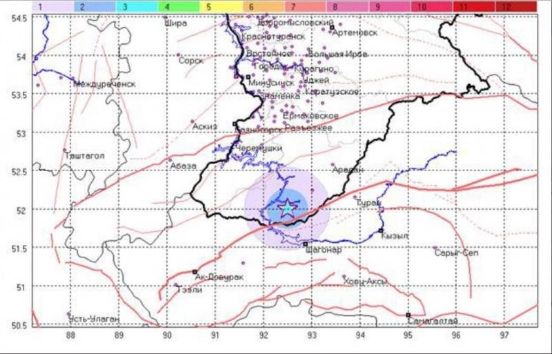 Землетрясение магнитудой 6,8 случилось  вБоливии