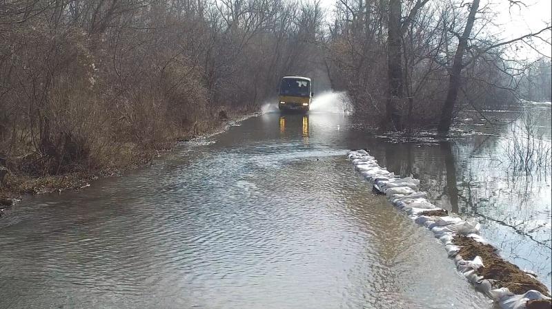 Повышение уровня воды вЕнисее грозит посёлку Ворогово