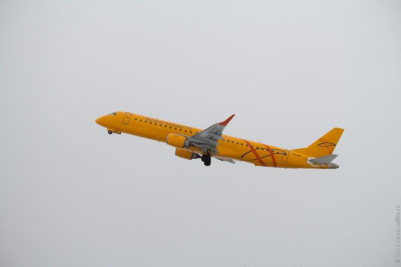 «Саратовские авиалинии» запустили рейс изКрасноярска вПетропавловск-Камчатский