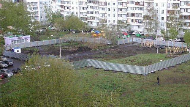 ВКрасноярске ееодну многоэтажку строят без документов иразрешений