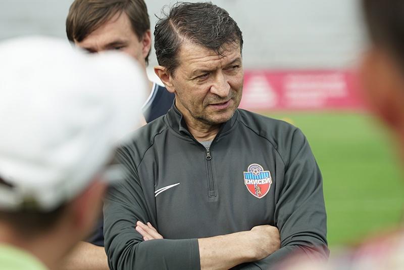 Юрий Газзаев стал главным тренером красноярскогоФК «Енисей»