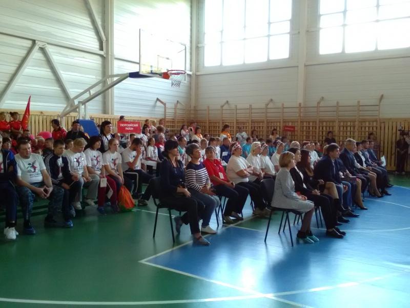 Краевой фестиваль адаптивного спорта открылся в Назарово